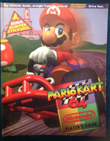Mario Kart 64 (Official Nintendo Player's Strategy Guide) Pre-Owned