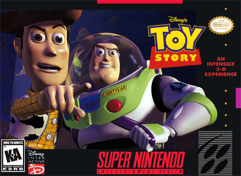 Disney's Toy Story snes 1