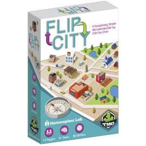 Flip City (Card and Board Games) NEW