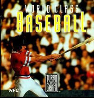 World Class Baseball (TurboGrafx 16) Pre-Owned