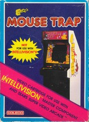Mouse Trap (Intellivision) Pre-Owned: Cartridge Only