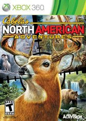 Cabela's North American Adventures (Xbox 360) Pre-Owned: Game, Manual, and Case