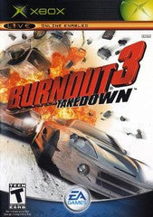 Burnout 3 Takedown (Xbox) Pre-Owned: Game, Manual, and Case