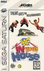 WWF In Your House (Sega Saturn) Pre-Owned: Game, Manual, and Case