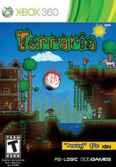 Terraria (Xbox 360) Pre-Owned: Game, Manual, and Case