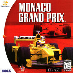 Monaco Grand Prix (Sega Dreamcast) Pre-Owned: Game, Manual, and Case