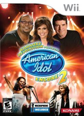 Karaoke Revolution: Presents American Idol Encore 2 with Microphone (Nintendo Wii) NEW
