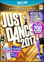 Just Dance 2017 Gold Edition (Nintendo Wii U) NEW