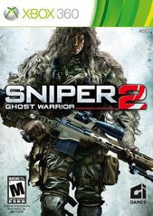 Sniper: Ghost Warrior 2 (Bulletproof Steelbook Edition) (Xbox 360) Pre-Owned: Game, Soundtrack, and Steelbook Case