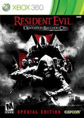 Resident Evil: Operation Raccoon City Limited Edition (Xbox 360) Pre-Owned: Game, Manual, 2 Patches and Steelbook Case