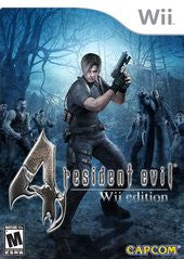 Resident Evil 4 (Nintendo Wii) Pre-Owned: Game, Manual, and Case