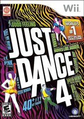 Just Dance 4 (Nintendo Wii) Pre-Owned: Game, Manual, and Case