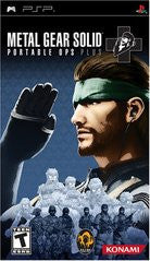 Metal Gear Solid Portable Ops Plus (Playstation Portable / PSP) NEW