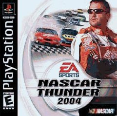 NASCAR Thunder 2004 (Playstation 1) Pre-Owned: Game, Manual, and Case