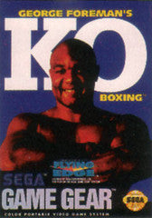George Foreman's Ko Boxing (Sega Game Gear) Pre-Owned: Cartridge Only