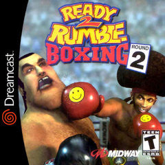 Ready 2 Rumble Boxing: Round 2 (Sega Dreamcast) Pre-Owned: Disc(s) Only