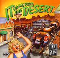 It Came From The Desert (TurboGrafx 16 CD) Pre-Owned: Game, Manual, and Case