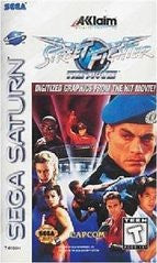 Street Fighter The Movie (Sega Saturn) Pre-Owned: Game, Manual, and Case