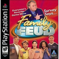 Family Feud (Playstation 1) Pre-Owned: Game, Manual, and Case