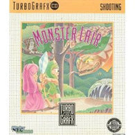 Monster Lair (TurboGrafx 16 CD) Pre-Owned: Game, Manual, and Case
