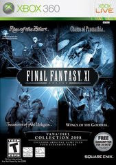 Final Fantasy XI Online:  The Vana'diel Collection 2008 (Registration Code Used/Replacement Disc/Collectable) (Xbox 360) Pre-Owned: Game, Manual, and Case