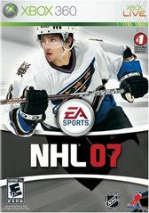 NHL 07 (Xbox 360) Pre-Owned: Game, Manual, and Case
