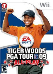 Tiger Woods PGA Tour 09 All-Play (Nintendo Wii) Pre-Owned: Game, Manual, and Case
