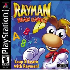 Rayman Brain Games (Playstation 1) Pre-Owned: Game, Manual, and Case