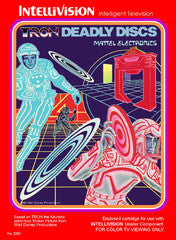 Tron Deadly Discs (Intellivision) Pre-Owned: Cart Only