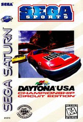 Daytona USA Championship (Sega Saturn) Pre-Owned: Game, Manual, and Case