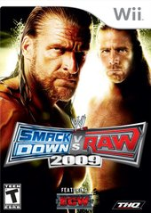 WWE SmackDown vs. Raw 2009 (Nintendo Wii) Pre-Owned