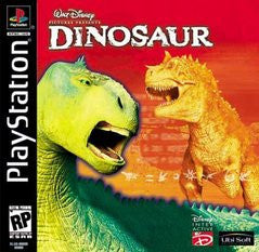 Disney's Dinosaur (Playstation 1) Pre-Owned: Game, Manual, and Case