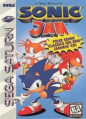 Sonic Jam (Sega Saturn) Pre-Owned: Game, Manual, and Case