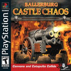 Ballerburg Castle Chaos (Playstation 1) Pre-Owned: Game, Manual, and Case