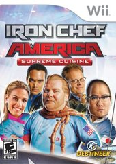 Iron Chef America Supreme Cuisine (Nintendo Wii) Pre-Owned