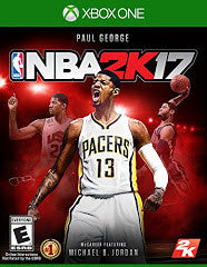 NBA 2K17 (Xbox One) Pre-Owned: Game, Manual, and Case