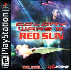 Colony Wars III Red Sun (Playstation 1) Pre-Owned: Game, Manual, and Case