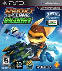 Ratchet & Clank: Full Frontal Assault (Playstation 3) Pre-Owned: Game and Case
