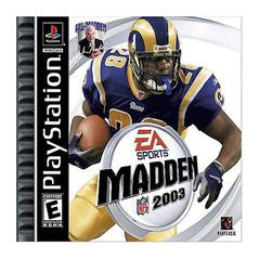Madden 2003 (Playstation 1) Pre-Owned: Game, Manual, and Case