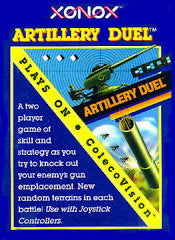 Artillery Duel (ColecoVision) Pre-Owned: Cartridge Only