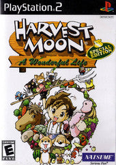 Harvest Moon A Wonderful Life Special Edition (Playstation 2) Pre-Owned: Game, Manual, and Case