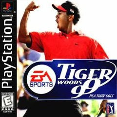 Tiger Woods '99 PGA Tour (Playstation 1) Pre-Owned: Game, Manual, and Case