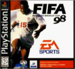 FIFA Road to World Cup 98 (Playstation 1) Pre-Owned: Game, Manual, and Case