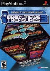 Midway Arcade Treasures 3 (Playstation 2) Pre-Owned: Game, Manual, and Case