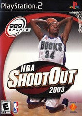 NBA Shootout 2003 (Playstation 2) Pre-Owned: Game, Manual, and Case