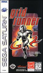 Grid Runner (Sega Saturn) Pre-Owned: Game, Manual, and Case