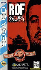 RDF Global Conflict (Sega CD) Pre-Owned: Game, Manual, and Case