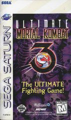 Ultimate Mortal Kombat 3 (Sega Saturn) Pre-Owned: Game, Manual, and Case