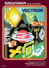 Vectron (Intellivision) Pre-Owned: Cartridge Only