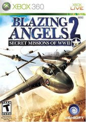Blazing Angels 2 Secret Missions (Xbox 360) Pre-Owned: Game, Manual, and Case